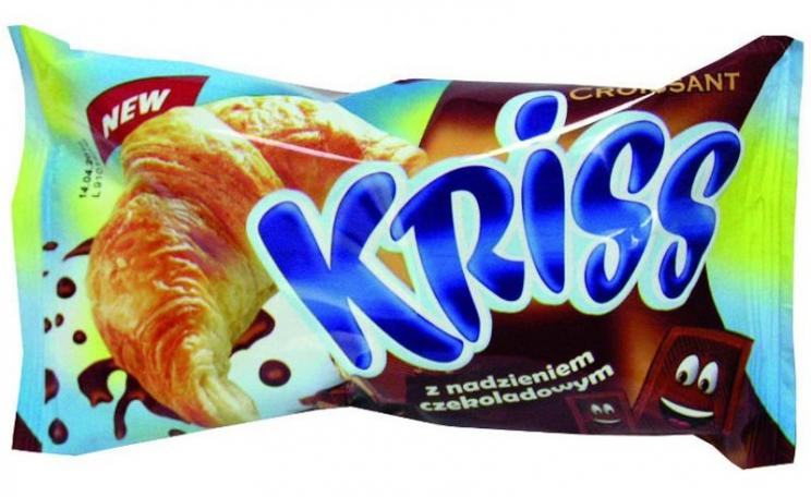 Kriss the croissant, a product of SPS Handel, Ostroleka, Poland. Photo: SPS Handel.