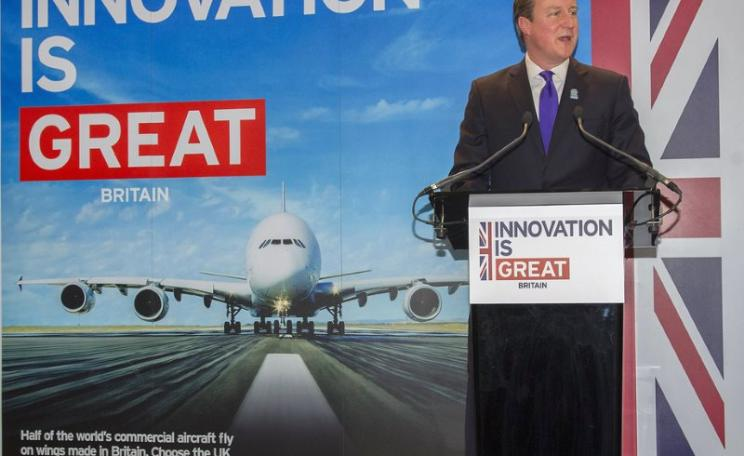 UK Prime Minister David Cameron is all for innovation - and that includes highly innovative interpretations of UN Resolution 2249 to permit military force, and of the right to 'self defence' to justify attacking distant targets that present no threat. Pho