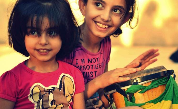 The Lord will know his own: children in Raqqa, Syria, August 2013. Photo: Bidna Capoeira via Flickr (CC BY-NC-SA).