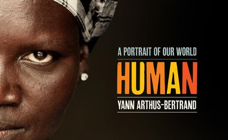 From front cover of HUMAN by Yann Arthus-Bertrand.