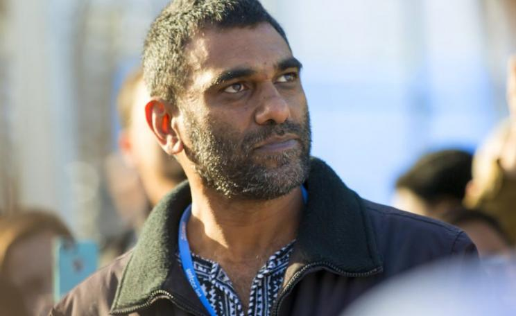 Greenpeace executive director Kumi Naidoo at COP21, 9th December 2015. Photo: UNclimatechange via Flickr (CC BY).