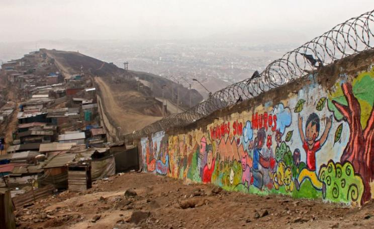 Lima's 'wall of shame'. Photo: Belen Desmaison, Author provided.