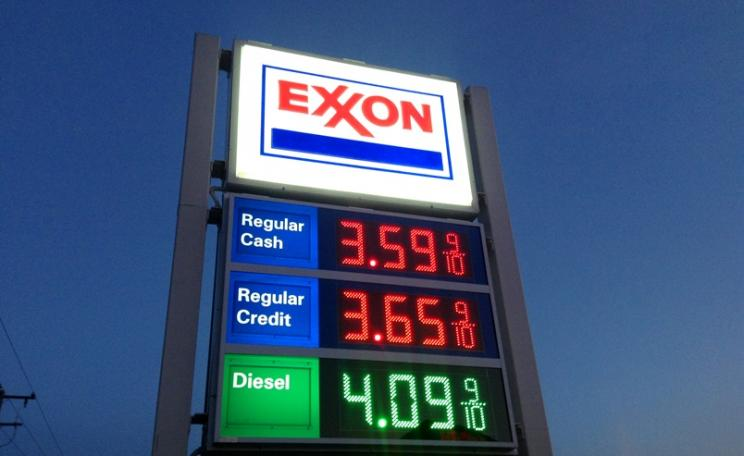 Exxon, one of the largest fossil fuel companies is surrounded in controversy. Photo: Mike Mozart via Flickr (CC BY)