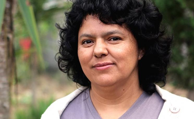 Berta Cáceres, Honduran indigenous and environmental rights campaigner. Photo: Goldman Environmental Prize.
