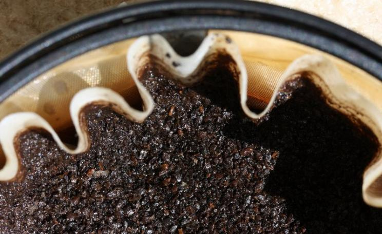 There gold in them thar coffee grounds ... Photo: Dominick via Flickr (CC BY-NC-SA).
