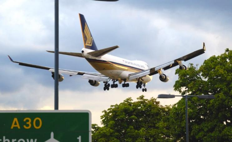 Heathrow scenery. Photo: stephen h via Flickr (CC BY-NC).
