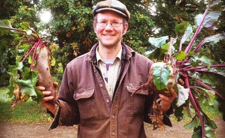 Organic beetroot grown at Sandy lane Farm, Oxfordshire: good for you, the farmer, wildlife and the wider environment. Photo: Sandy lane Farm via Facebook.
