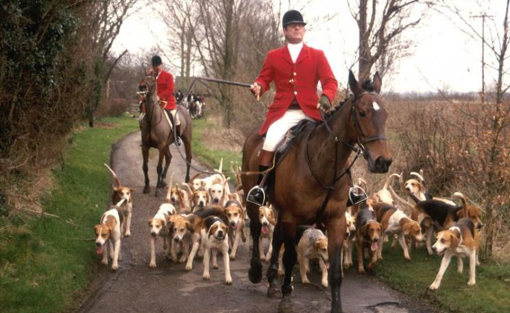 The Essex Foxhounds in 1994. Photo: League Against Cruel Sports.