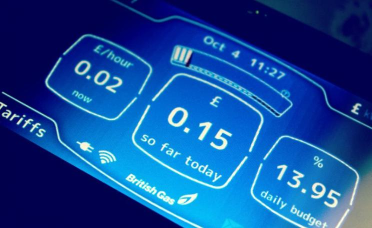 Display from a BG smart meter. Just too bad about all the electromagnetic smog it generates. Photo: athriftymrs.com via Flickr (CC BY-SA).