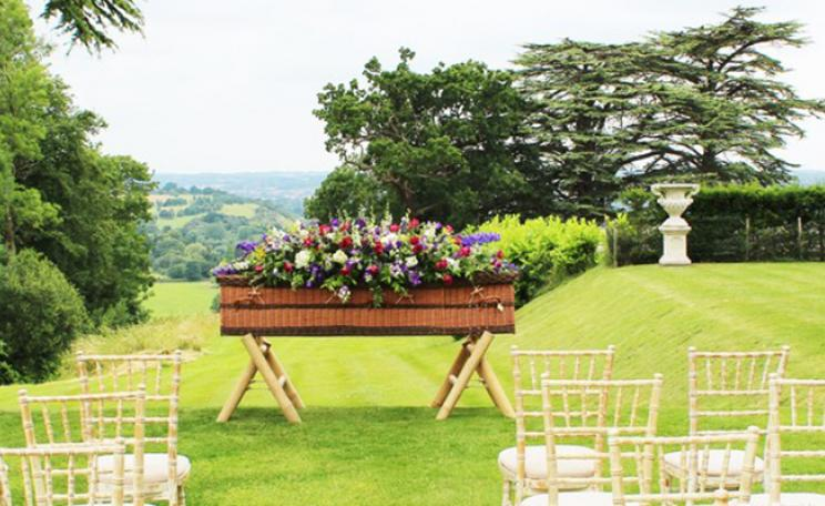 <p>Poetic Endings in London offers environmentally friendly funerals, including wicker baskets.</p>