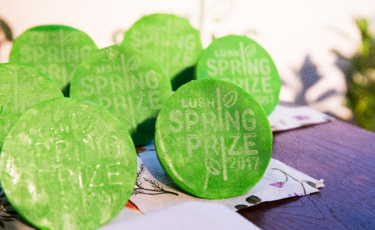 Lush announces £200,000 prize fund (c) Lush cosmetics