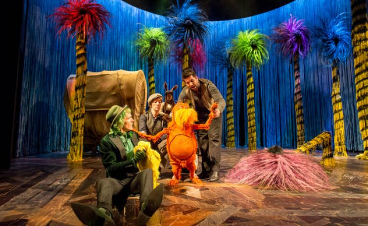 "<p>Dr Seuss's The Lorax is currently showing at the Old Vic in London, before travelling to Toronto for a Christmas run from December 9th, and then Minnesota in April 2018. (c)&nbsp;<span style=""font-family: Verdana, Geneva, sans-serif; font-size: 13px;"">Manuel Harlan.</span></p>"