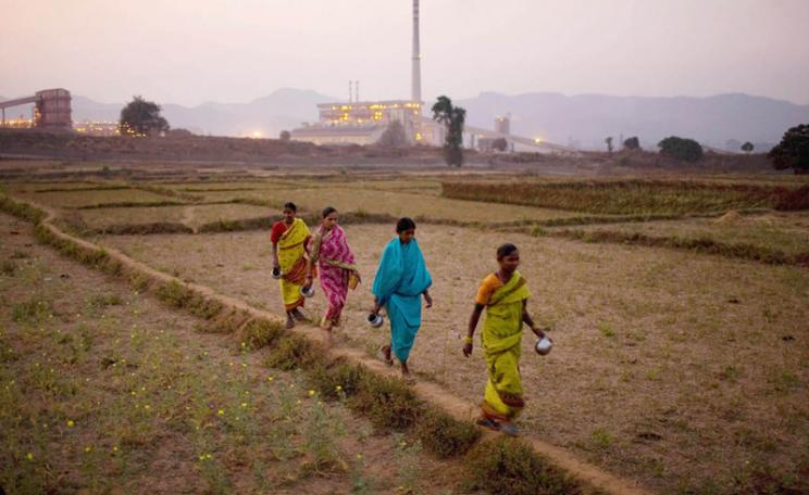 An overview of the Vedanta refinery in Lanjigarh, Orrisa. Sanjit Das/ActionAid