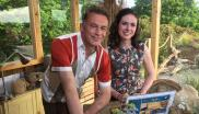 Lindsey Chapman and Chris Packham