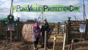 Pont Valley protestors