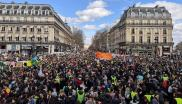 climate march in Place de la République