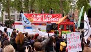 Climate emergency demo