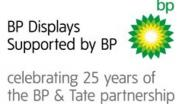 Tate's 'Walk through British art' - 'BP Displays, supported by BP, celebrating 25 years of the BP & Tate partnership'. From tate.org.uk.