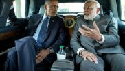 Best of friends? President Barack Obama and Prime Minister Narendra Modi of India en-route to the Martin Luther King, Jr. memorial on the National Mall in Washington DC, 30th September 2014. Photo: Pete Souza / The White House via Wikimedia.