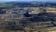 Hunter open pit coal mine in NSW, Australia.