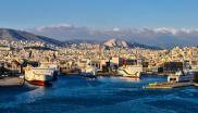 Greece's recently privatised port of Piraeus, near Athens, gateway to the islands. Photo: Jeffrey via Flickr (CC BY-ND).