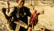 Bushmen have hunted at subsistence levels in the Kalahari for millennia. Photo: Survival International.